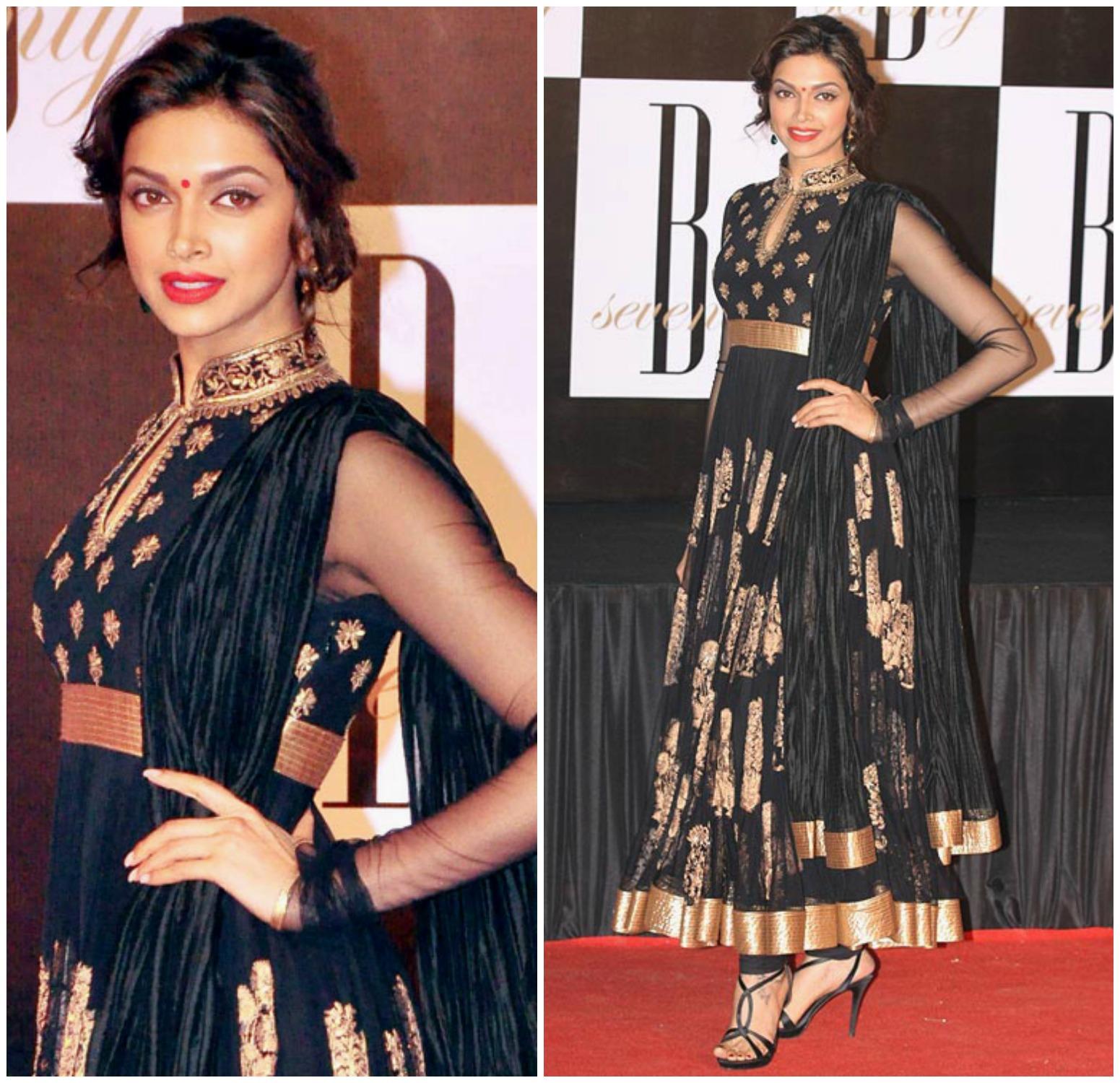 Fablist Deepika Padukone 2013 Looks Sonam Naidu