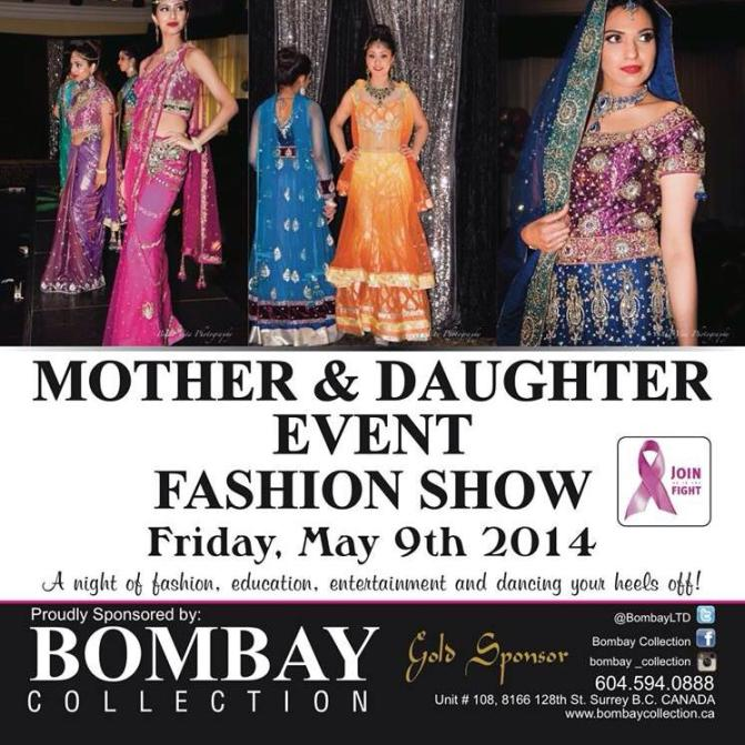 Mother & Daughter Fashion Show Event 2014