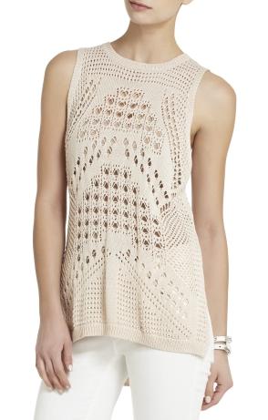 bcbg-brown-petral-sleeveless-raglan-pullover-
