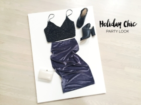 Holiday Chic - Party Look - Outfit